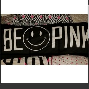 "Pink vs ""BE 😊 PINK"" Body Pillow NWOT"